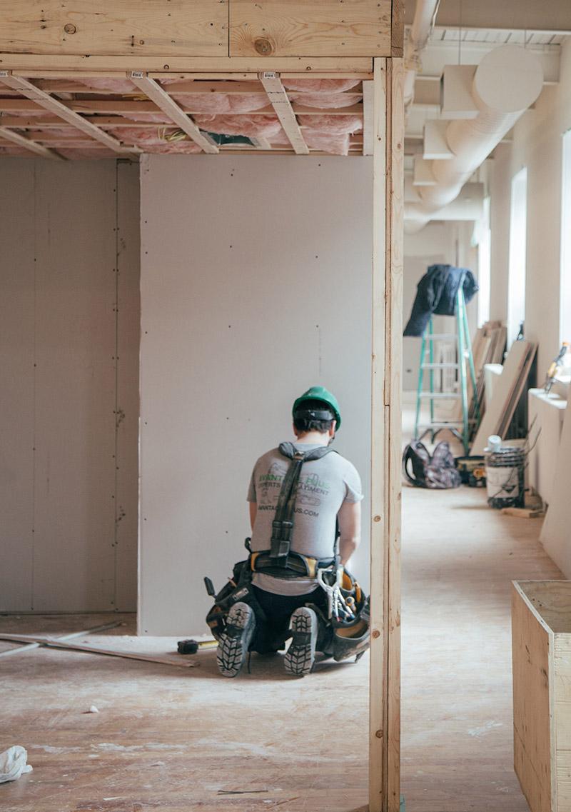 Byggstädning efter renovering